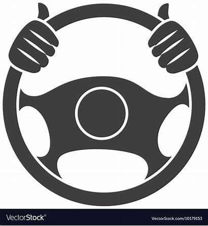 Steering Wheel Icon Vector Power Royalty Repair