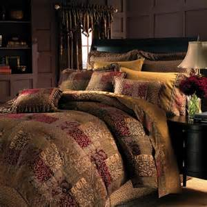 galleria patchwork bedding ensemble by croscill townhouse linens