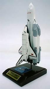 Buran Full Stack - 1/200 Scale Mahogany Model