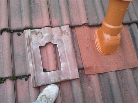 ventilation cuisine gaz comment installer une sortie de toit universelle le