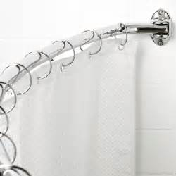Walmart Better Homes And Gardens Curtain Rods by Canopy Curved Hotel Shower Rod Walmart Com