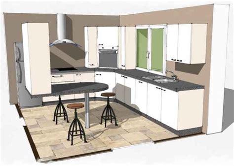 beton pour plan de travail cuisine agencement cuisine dans le 44