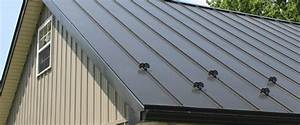 metal roof snow guards snow guard for standing seam With barn roof material