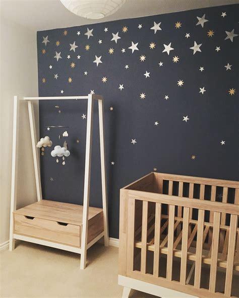 boys starry night themed nursery scandiborn