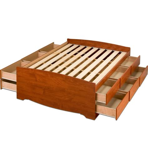 Platform Bed Storage by How To Build A Size Platform Bed With Storage