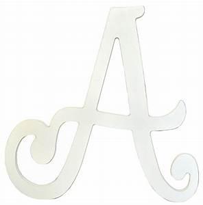 Wooden letters cursive wooden letters letters for Cursive wooden letters