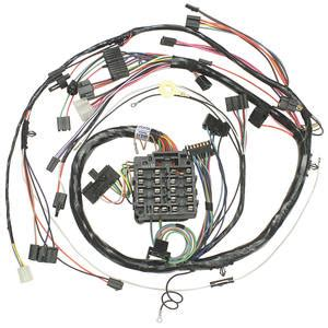 1972 Monte Carlo Wiring Harnes by M H 1972 Monte Carlo Dash Instrument Panel Harness