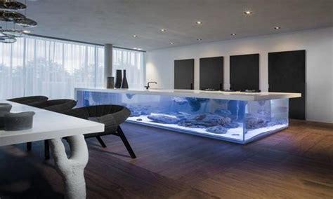 Dual Purpose Fish Tank Design Ideas Interior Design