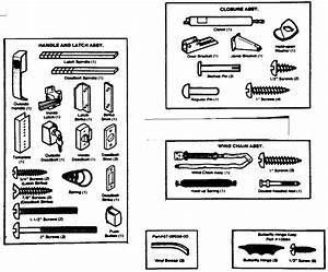 Sears 65623671270 Storm  U0026 Screen Doors Parts