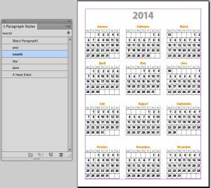 It39s indesign calendar template time indesignsecrets for 2014 calendar australia template