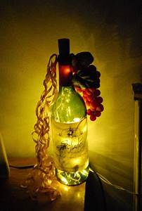 How To Light Fashion Photography Light Up Wine Bottle A Bottle Lamp Decorating On Cut