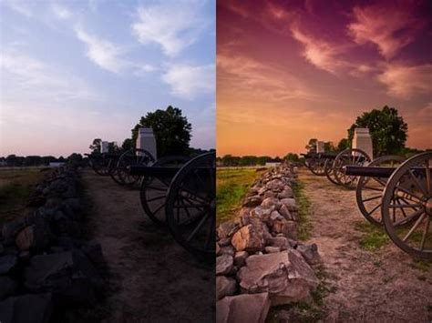 add dramatic color  photoshop camera raw lensvid