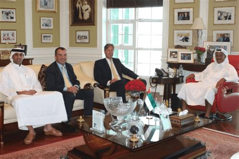 Commercial Bank Of Dubai Ceo Introduces Khalaf Al Habtoor