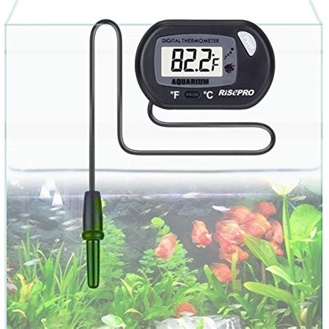 risepro aquarium thermometer digital water thermometer