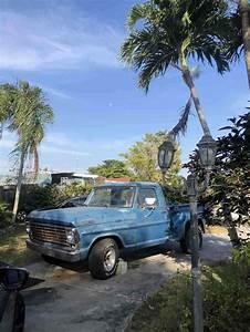 1967 Ford F100 Pickup Blue Rwd Manual Stepside For Sale