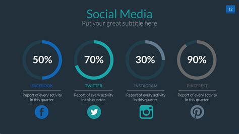 social media powerpoint template social media powerpoint presentation template by audioneptune graphicriver