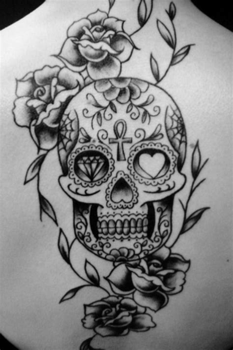 17 Best images about Sugar skull on Pinterest | Hamsa, Stencils and Tattoo ideas