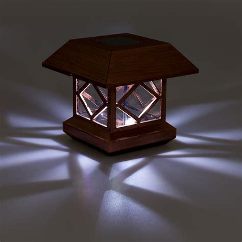 6 solar post cap lights greenlighting outdoor summit solar post cap light for 4x4
