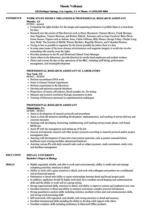 Working Skills Resume by Molecular Biology Lab Skills Resume Vvengelbert Nl