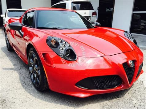 Alfa Romeo 4c Sale by Motoring Malaysia Spotted For Sale Alfa Romeo 4c Launch