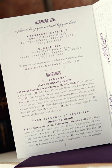 michael breannas antique book wedding invitations