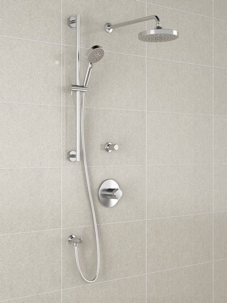 kalia bf  cite  thermostatic shower system chrome