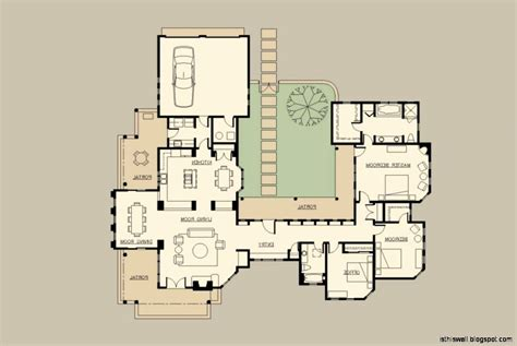 style home plans with courtyard hacienda style home plans inspirational modern courtyard