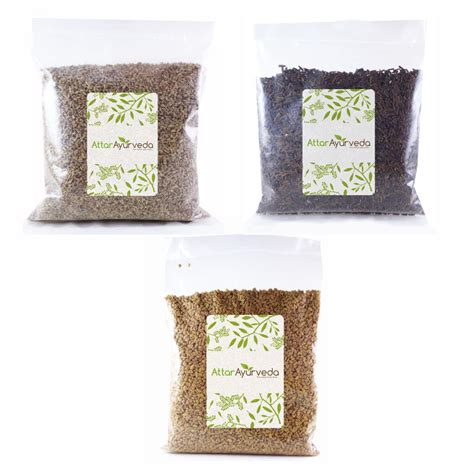 Buy Methi Ajwain Kali Jeeri Combo Pack Attar Ayurveda