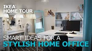 Home Office Ideas IKEA Home Tour YouTube