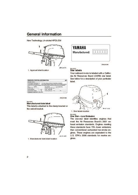 Yamaha Outboard Motor Owner S Manual by 2005 Yamaha Outboard F6d F8d T8d Boat Motor Owners Manual