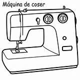 Sewing Coloring Machine Maquina Coser Colorear Dibujos Maquinas Imagui Dibujo Drawing Template Cocer Modista Costura Costurera Pinto Buscar Zoeken sketch template