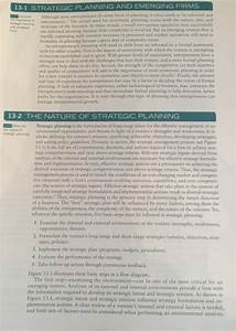 Solved  After Reading These Pages Discuss Why Strategic Pl