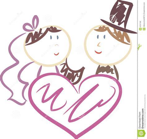 Cute Wedding Congratulations Clip Art