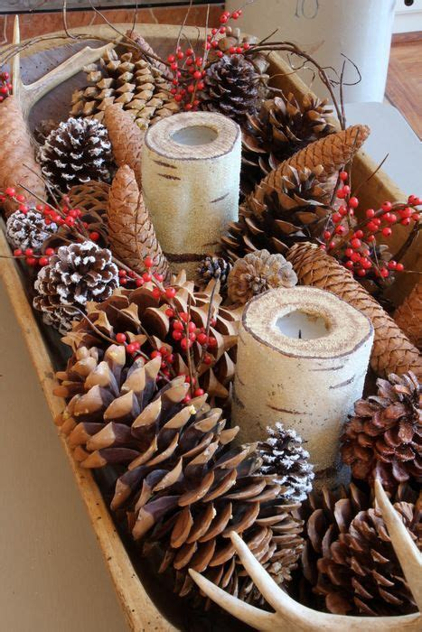 christmas decorating with natural elements 1000 ideas about decorations on rustic