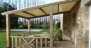 Tonnelle En Bambou : voile pare soleil terrasse 7 toile bache pergola voile ~ Premium-room.com Idées de Décoration