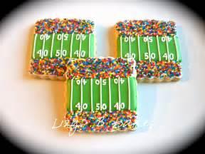Super Bowl Football Field Cookies