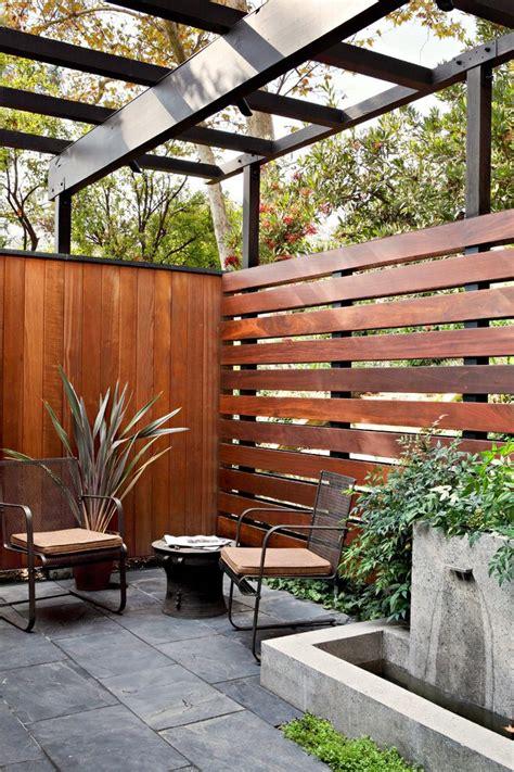horizontal board fence patio midcentury  steel  wood piece outdoor sofa sets