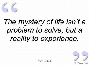 Life Is A Mystery Quotes. QuotesGram