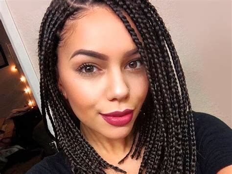 Individual Braids Hairstyles,collection Of Single Braid