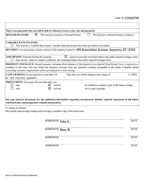 Disclosure comparison > Consumer Financial Protection Bureau