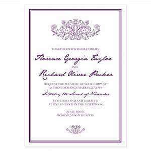 sample invitation templates samples and templates With wedding invitations sample pdf