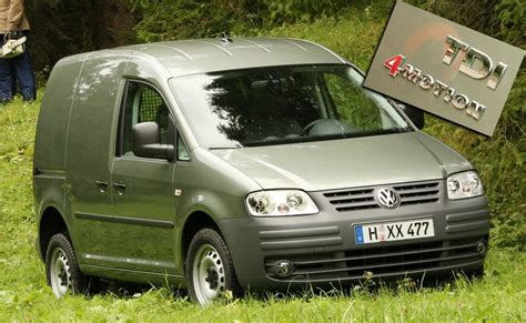 first volkswagen ever vw presents first ever caddy with four wheel drive