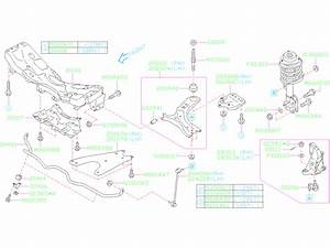 2018 Subaru Impreza Support Arm   Front   Suspension