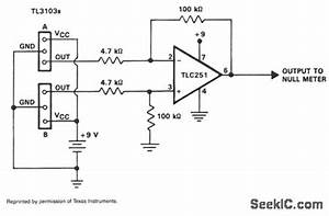 Hall Effect Compass - Amplifier Circuit