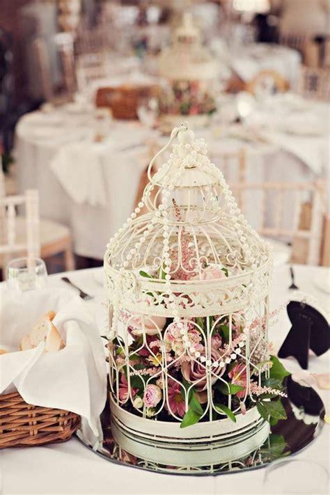 vintage hochzeit deko perlen sorgen fuer romantik