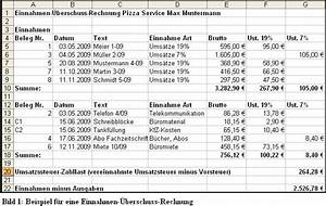 Kassenführung Einnahmen überschuss Rechnung : buchf hrung f r kleingewerbe infos kostenlose e r vorlage ~ Themetempest.com Abrechnung