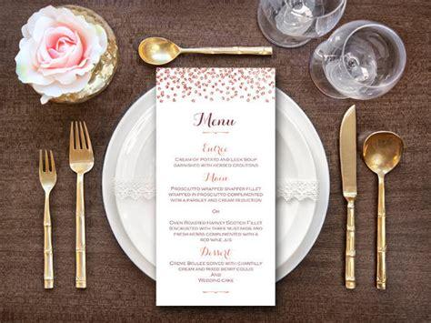examples  wedding menus ai psd google docs