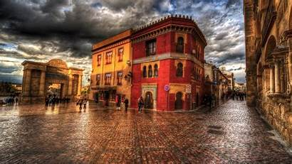 Hdr Town Wallpapers Resolution 4k 1440p Street