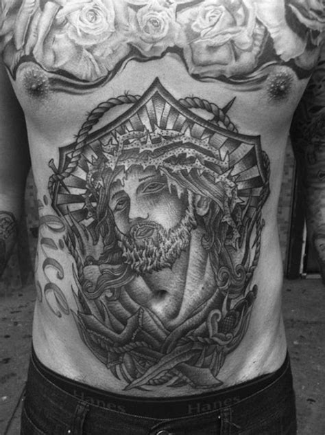 52 Beautiful Stomach Tattoo Designs for Men and for Girls - Piercings Models