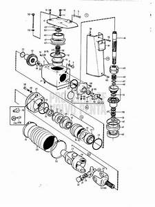 Volvo Penta Exploded View    Schematic Upper Gear Unit Aq Drive Unit 270  270t  A